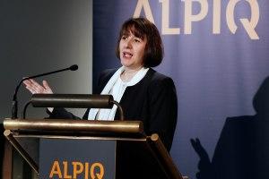 Jasmin Staiblin Présidente d'Alpiq