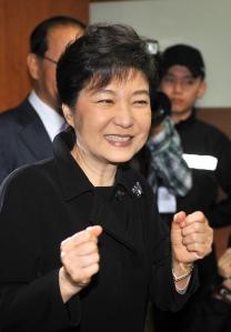 Park Geun-Hye Présidente de la Corée du Sud sur CNN Cliquez sur l'image pour voir la vidéo
