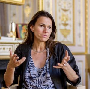 Aurélie Filippetti, ministre de la culture française