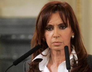 Cristina Fernandez de Kirchner, présidente de l'Argentine