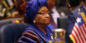 Ellen Johnson Sirleaf Présidente du Liberia