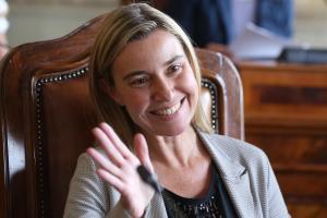 Federica Mogherini, Ministre des Affaires étrangères en Italie