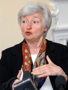 Janet Yellen, présidente de la Réserve fédérale américaine