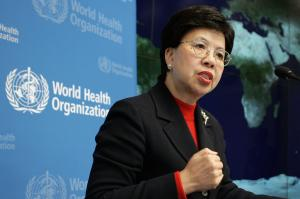 Margaret Chan Directrice générale de l'OMS