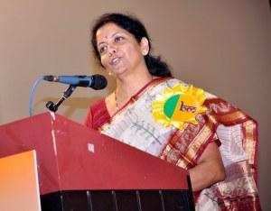 Nirmala Sitharaman Ministre indienne du commerce et de l'Industrie