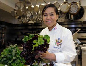 Cristeta Comerford, chef à la Maison Blanche