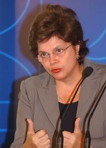 Dilma Roussef, présidente du Brésil