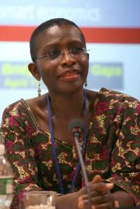Antoinette Sayeh, directrice du département Afrique du FMI