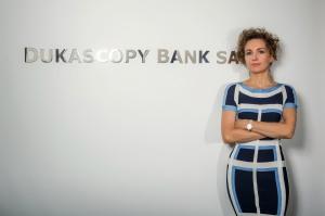 Veronika Duka, CEO de la banque Dukascopy