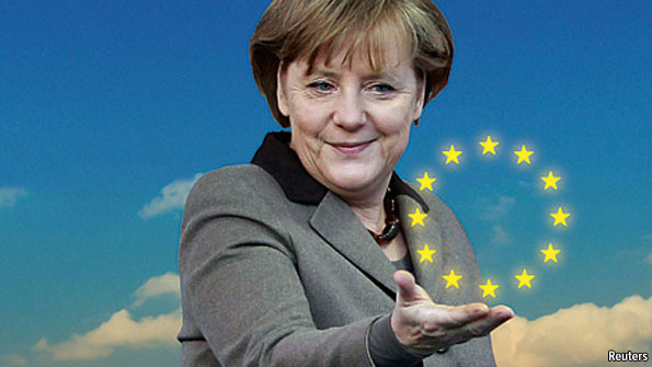Angela Merkel, The Economist