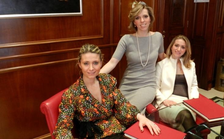 Mariella, Manuela et Alessandra Bottiglieri