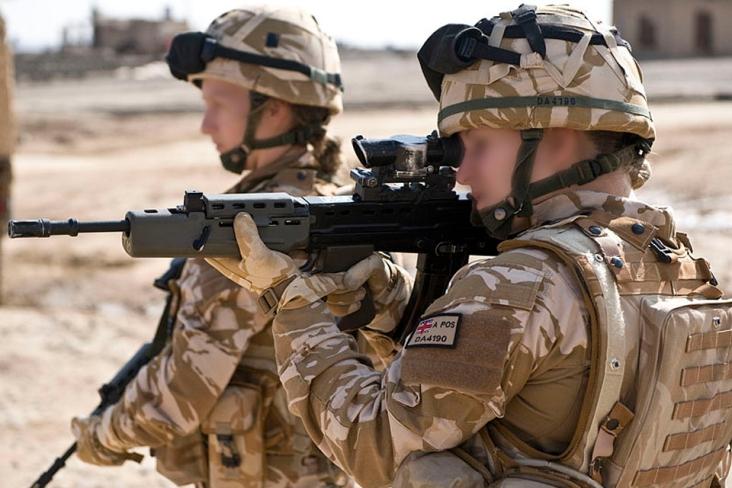Femmes soldats britanniques